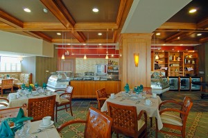 You, your friends and family will always enjoy impeccable cuisine and gracious service in our beautiful atrium dining room or Terrace Café and balcony garden.