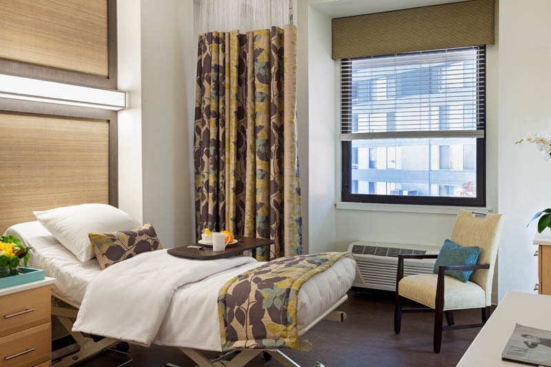 Our rehabilitation apartments at The Springs are large, bright and cheery.