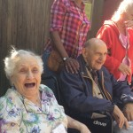 Rita Nolfi is always laughing, this makes me a happy Community Life Director.