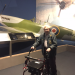 Bernie at the National Air and Space Museum.