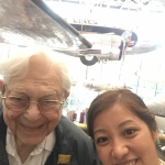 Selfie at the National Air and Space Museum.