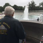 Taking a look at World War II Memorial.