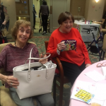 Estelle won the nice purse from Vera Bradley.  Joan won the beautiful purse from Coach! Congratulations!!