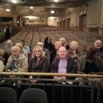 Residents and associates attending the Merriam Theater for the play production The Wiz.