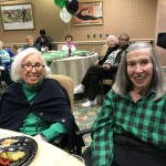 Ray and Elsie cheering for the Eagles!