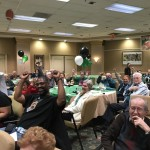 Residents were happy when Eagles scored!