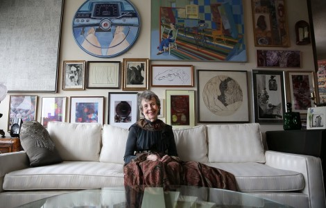 79 Year Old Artist Turns Home into Art Gallery