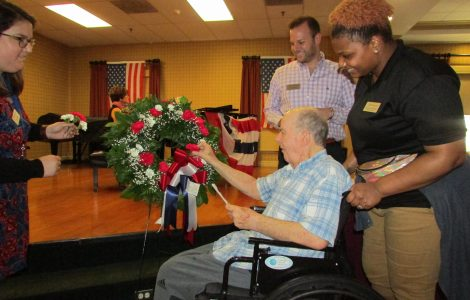 """""""A Salute to Service"""" Memorial Day Ceremony"""