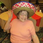 Maxine looks terrific in a sombrero! Glamour Shot!